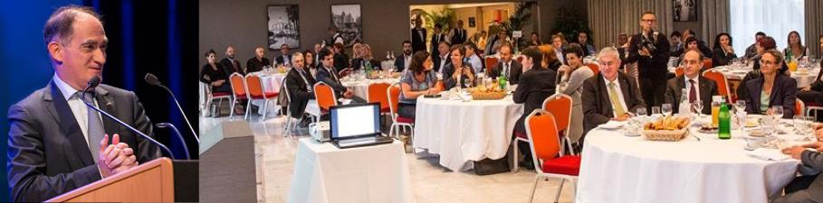 17 mars 2017, Petit Déjeuner : «Les outils de financement et de soutien du Gouvernement en faveur des entreprises»